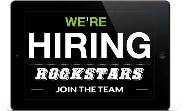 Now Hiring Rockstars to Join Our Real Estate Team!