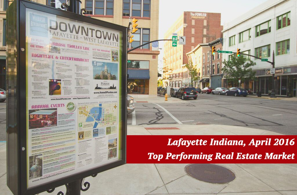 Lafayette Indiana – Top 20 Performing Real Estate Markets