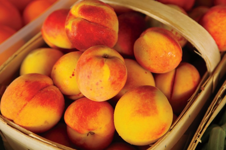 The Peach Truck to visit Lafayette! - The Romanski Group
