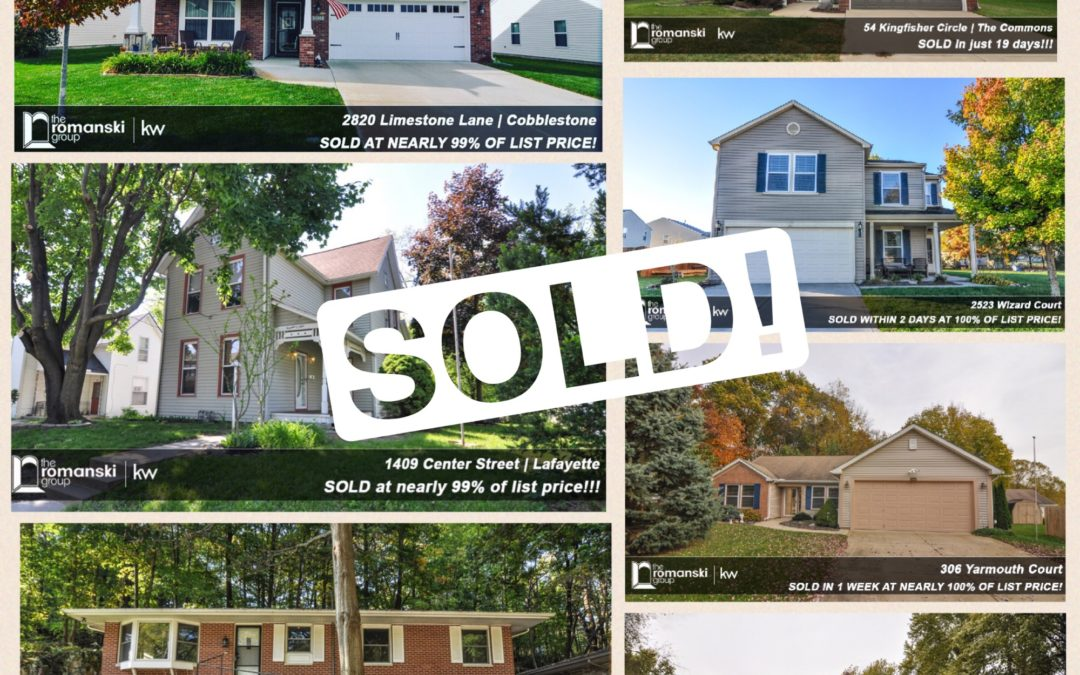 Just Sold in Lafayette