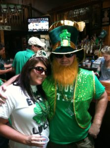 st patricks day parades, leprechauns, green river