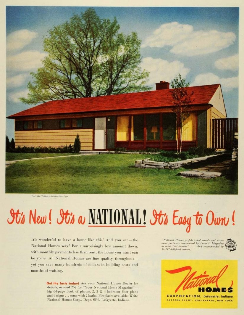 National Homes In Lafayette In The Romanski Group