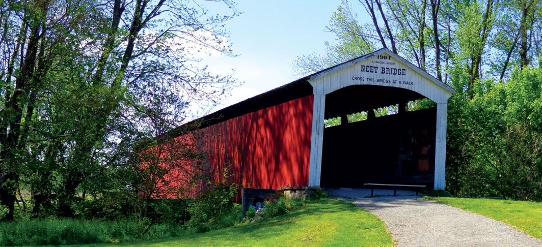 Parke county indiana covered bridge photos