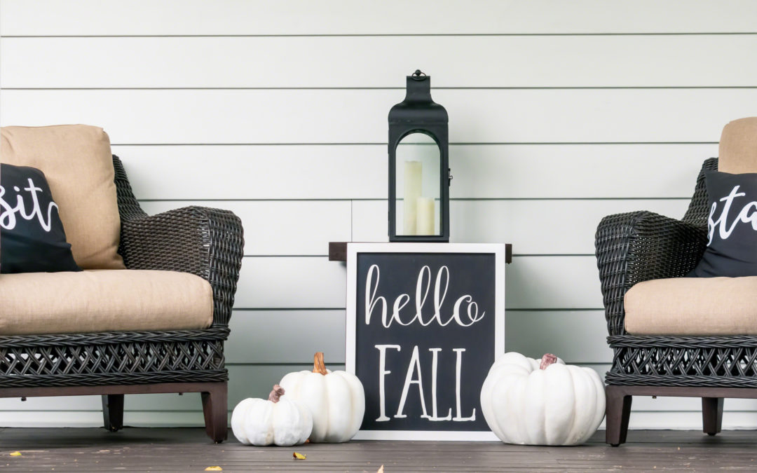 Fall Decor Refresh