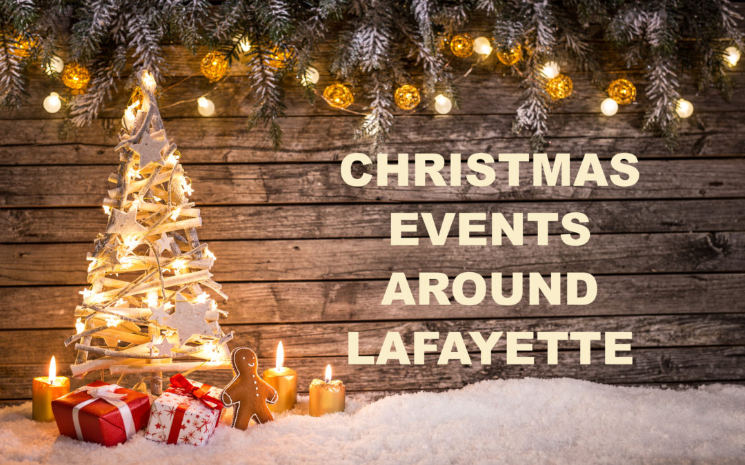 Christmas Events around Lafayette 2020