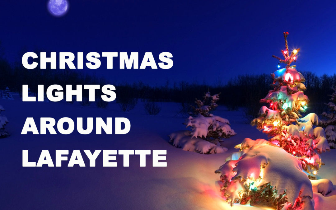 Christmas Lights around Greater Lafayette 2020